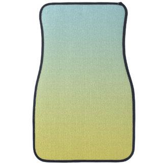 """""""Ombre bleu et jaune"""" Tapis De Sol"""