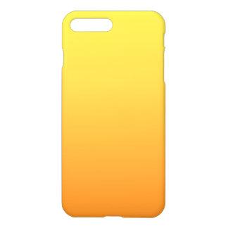 Ombre jaune et orange coque iPhone 8 plus/7 plus