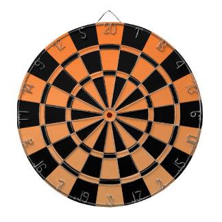 Ombre orange et noir jeux de fléchettes