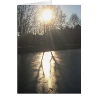 Ombre sur la glace, carte