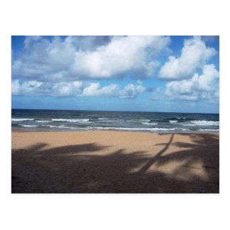 Ombres de plage de Mayaro de carte postale
