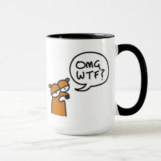 OMG WTF ? sur une tasse