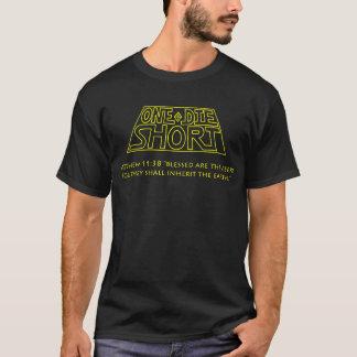 On meurent T-shirt court : Logo officiel et