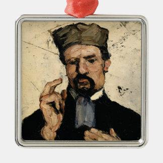 Oncle Dominique en tant qu'avocat, 1866 Ornement Carré Argenté
