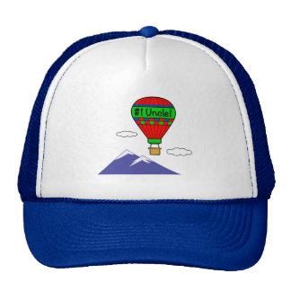 Oncle du numéro un avec le ballon à air chaud casquette trucker