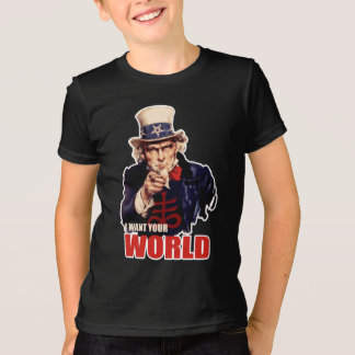 Oncle Sam capitaliste satanique T-shirt