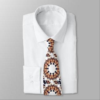 Oncle Sam dirigeant le kaléidoscope de doigt Cravates