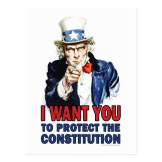 Oncle Sam : Je veux que vous protégiez la Carte Postale