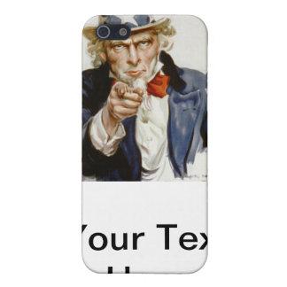 Oncle Sam vintage personnalisable Étuis iPhone 5