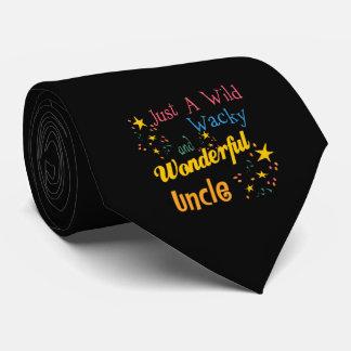 Oncle sauvage et farfelu cravates