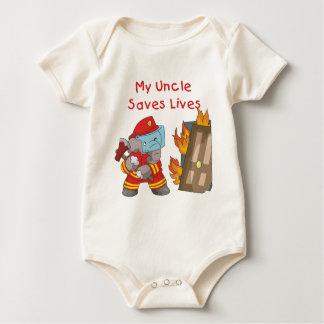 Oncle T-shirts et cadeaux de sapeur-pompier