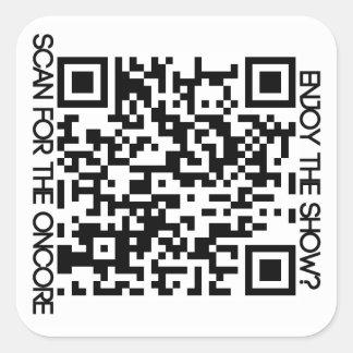 Oncore Facebook QR Sticker Carré