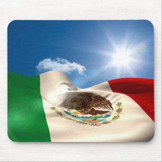 Ondulation de drapeau du Mexique produite par Tapis De Souris