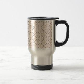 Ondulation en pastel #1 mug de voyage en acier inoxydable