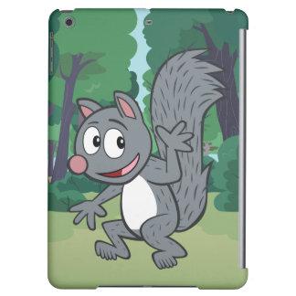 Ondulation grise d'écureuil de Rick | de garde