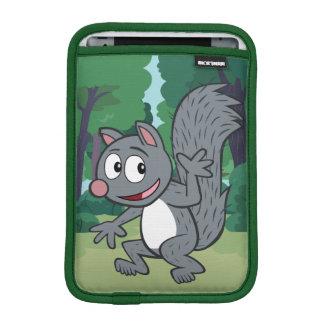 Ondulation grise d'écureuil de Rick | de garde Housse iPad Mini