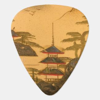 Onglet de guitare Asiatique-Inspiré