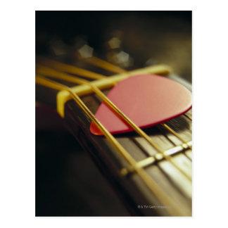 Onglet de guitare carte postale
