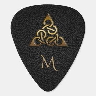 Onglet de guitare celtique de monogramme de noeud