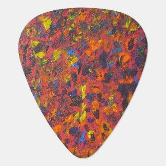 Onglet de guitare coloré d'art d'Abtract