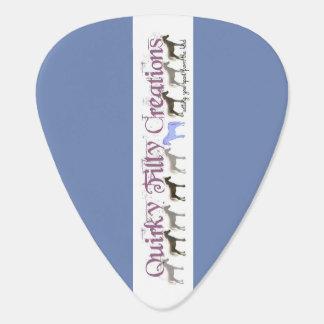 Onglet de guitare d'aquarelle de Crabapple