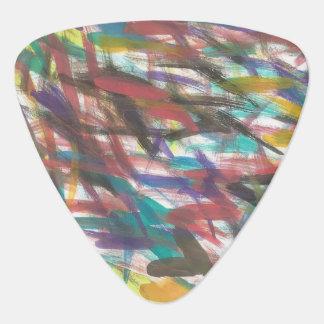 Onglet de guitare d'art abstrait de traçages