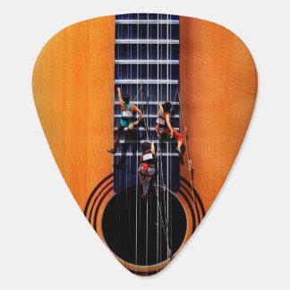 Onglet de guitare de grimpeurs de guitare