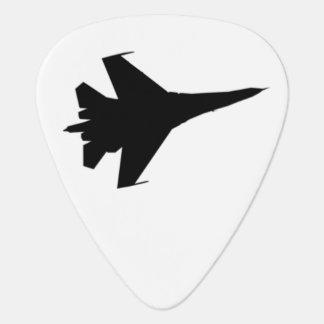 Onglet de guitare de la silhouette F-16