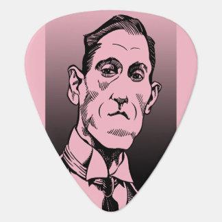 Onglet de guitare de Lovecraft, portrait de