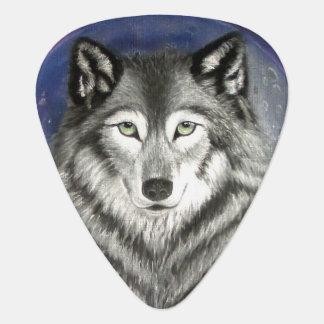 Onglet de guitare de lune de loup