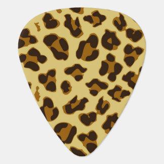 Onglet de guitare de poster de animal de léopard
