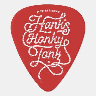 Onglet de guitare de rouge de Tonk du Honky de