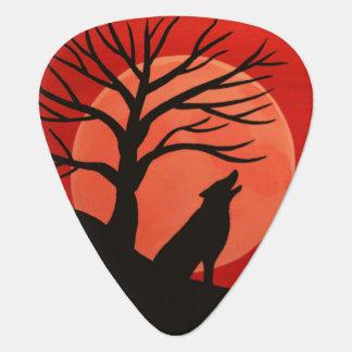 Onglet de guitare éffrayant de loup
