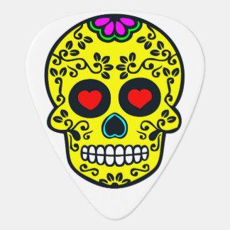 onglet de guitare mexicain de crâne
