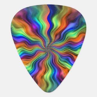 Onglet de guitare mystique de vibrations