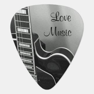 Onglet de guitare personnalisable de musique