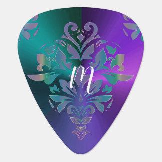 Onglet de guitare tribal de monogramme de cool