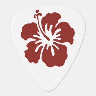 Onglet de guitare tropical de fleur de ketmie