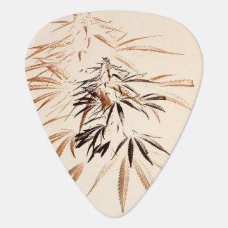 Onglet de guitare vintage de feuille