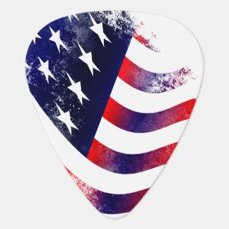 Onglets de guitare de drapeau américain onglet de guitare