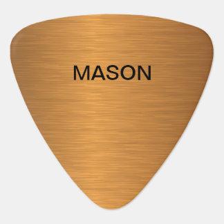 Onglets de guitare de luxe frais de monogramme
