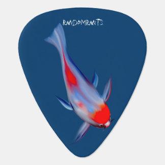 Onglets de guitare de poissons de carpe de Koi