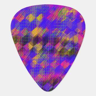 Onglets de guitare géométriques lumineux