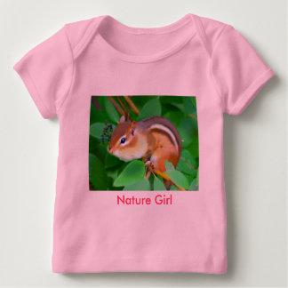 Onsie de tamia, fille de nature t-shirt pour bébé