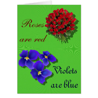 ONU-Valentine Carte De Vœux