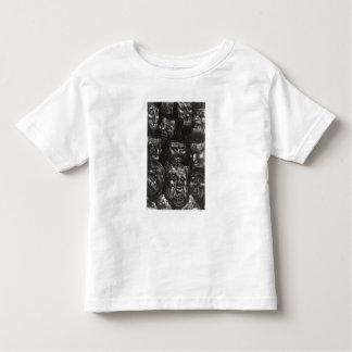 Onze visages grotesques t-shirt pour les tous petits