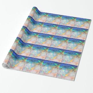 Opale d'océan papiers cadeaux