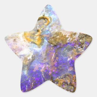 Opale d'or sticker étoile