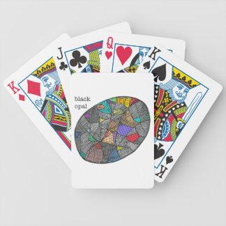 Opale noire jeu de poker