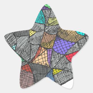 Opale noire sticker étoile